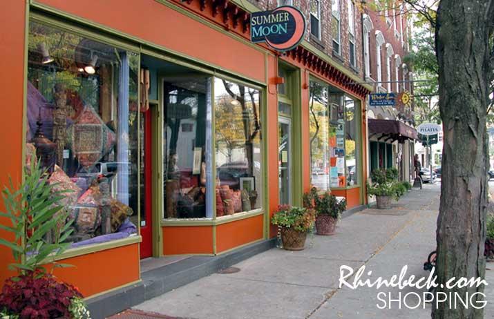 Rhinebeck New York Shoppingrhinebeck village